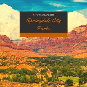 springdale city parks