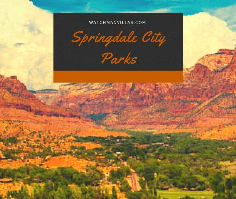 City Parks in Springdale