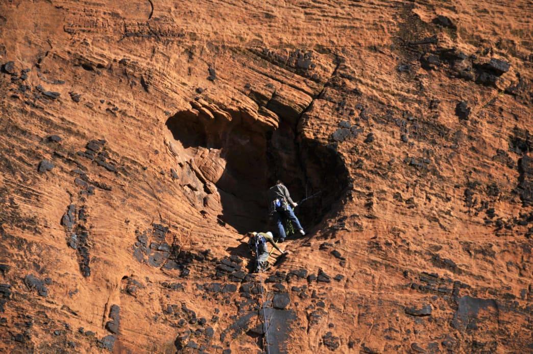 20180629-Utah-Snow Canyon State Park-rock climb