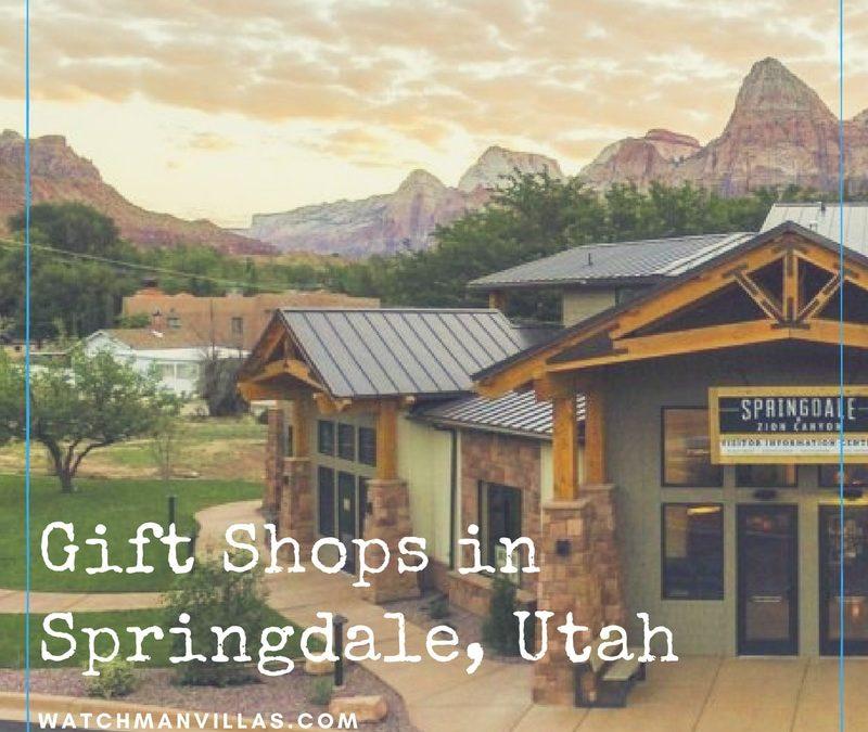 Gift Shops in Springdale, Utah